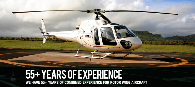 55+ YEARS COMBINED EXPERIENCE FOR ROTOR WING AIRCRAFT
